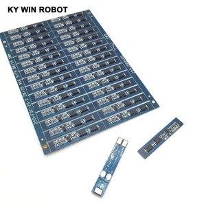 Lote de 5 unidades de 2S, 3a, batería de Li-ion, 7,4 v, 8,4 V, 18650, placa de protección de carga, bms, pcm, para paquete de baterías li-ion lipo