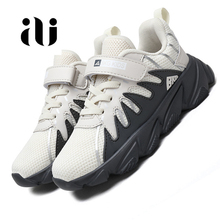 цены на New Spring Kids Fashion Sneakers Children Shoes Mesh Breathable Running Shoes Boys Girls Brand Casual Outdoor sports shoes