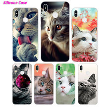 Silicone Phone Case Cute Cat Fashion for Huawei P Smart 2019 Plus P30 P20 P10 P9 P8 Lite Mate 20 10 Pro Lite Nova 3i Cover стоимость
