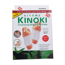 Kinoki Detox Foot Pads Patches Relaxation Massage Relief Stress Feet Care Improve Sleep Slimming Natural Plant