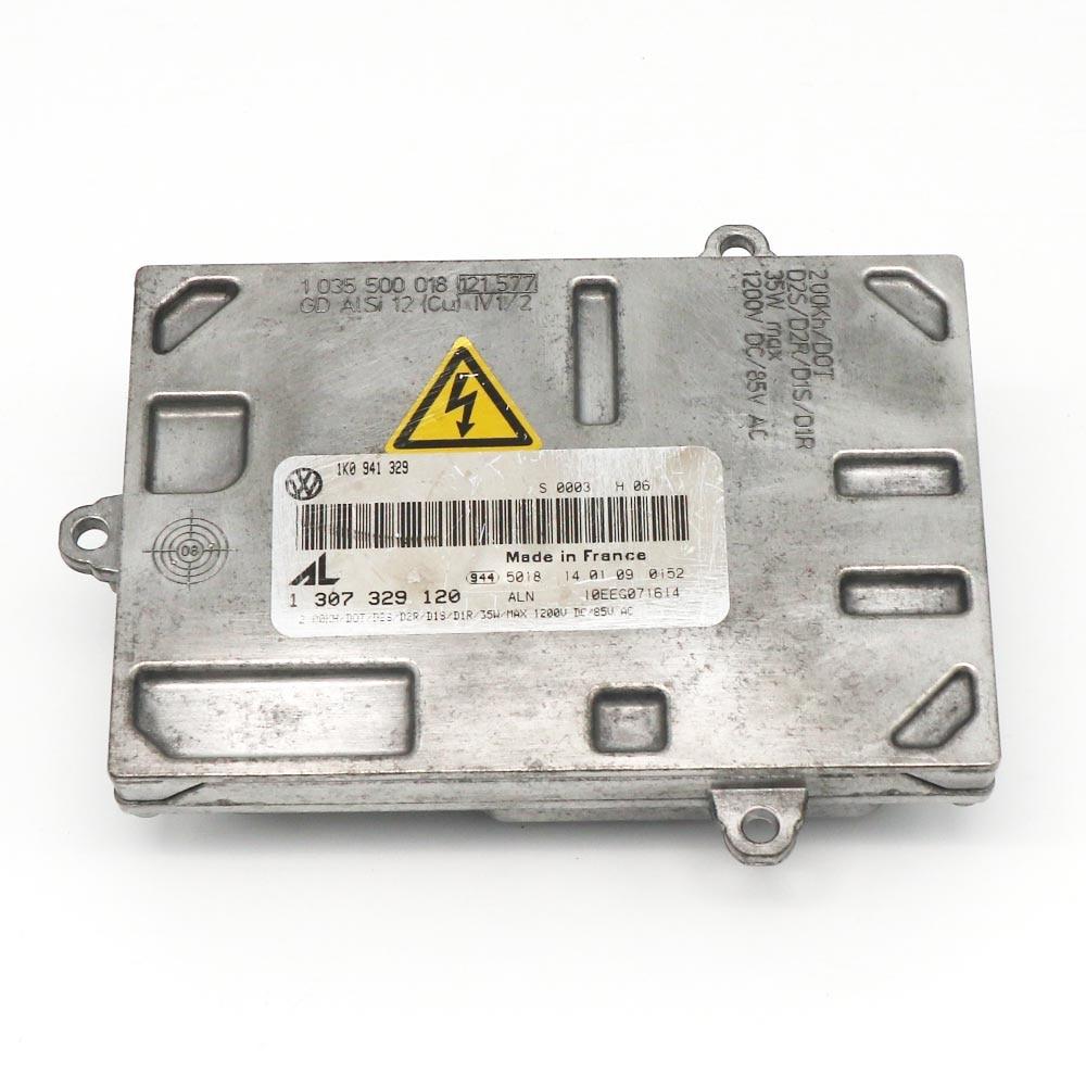 OEM AL-1 307 329 120 D1S D1R 35W Xenon Headlight HID Ballast for Volkswagen 1307329293 1307329115 d2s r d1s r new oem al hid xenon ballast control unit module 06 08 a udi a4 s4 rs4 1307329115