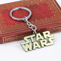 new arrival star wars keychain key chain for car letter logo metal keyring  2 colors key holder  For Gift Chaveiro  men jewelry