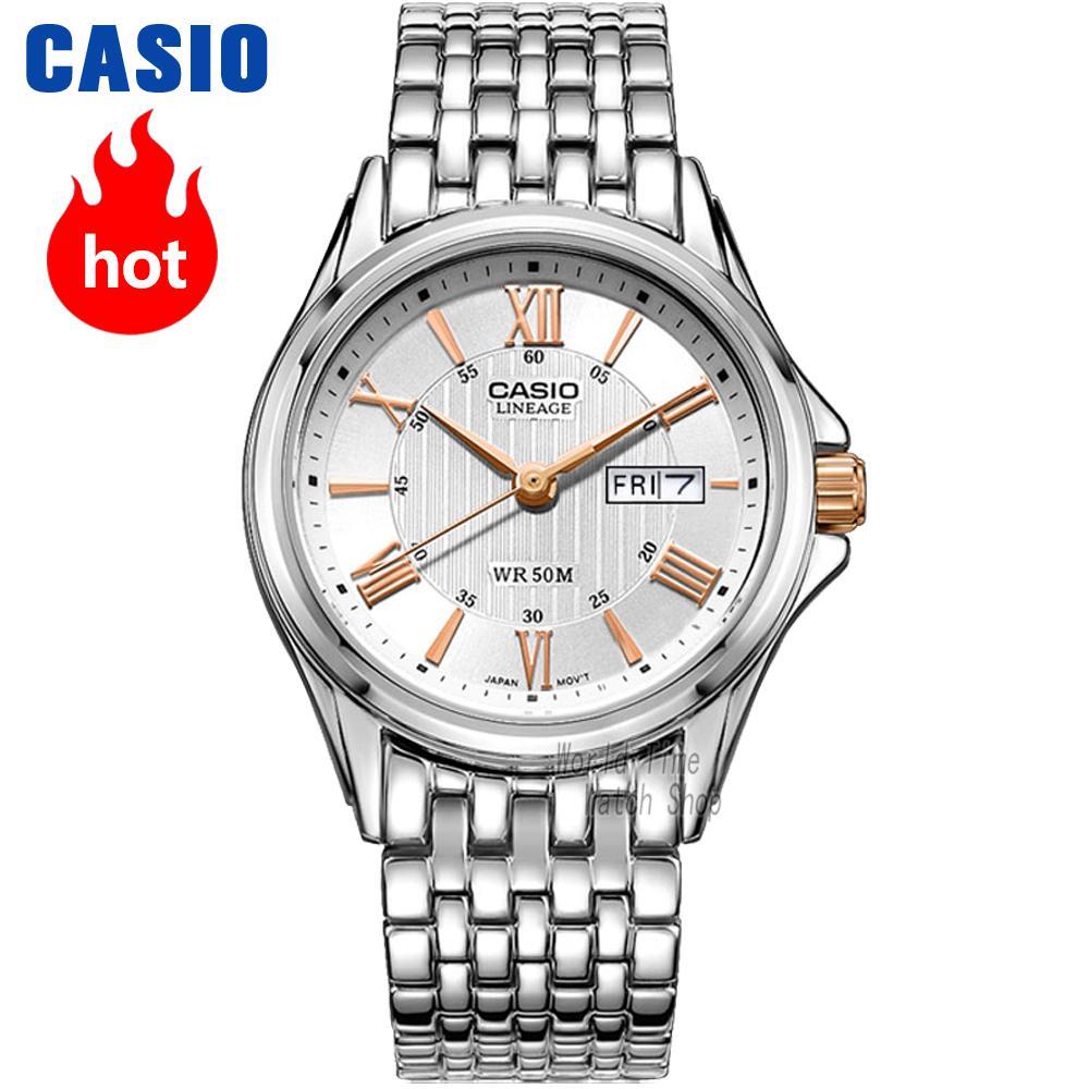 Casio watch Business casual quartz men watch LIN-203SD-7A casio lin 165 8b