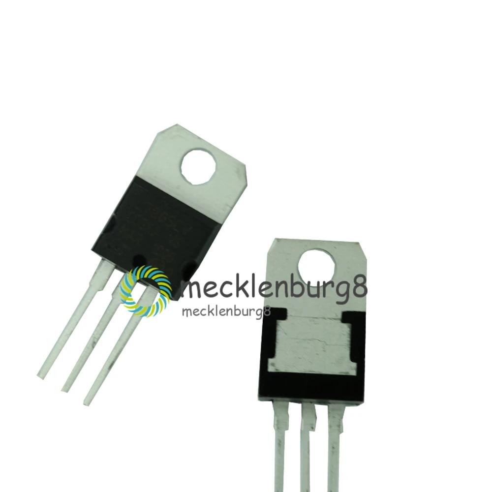 10pcs Useful L7805CV ST Positive Voltage Regulator New
