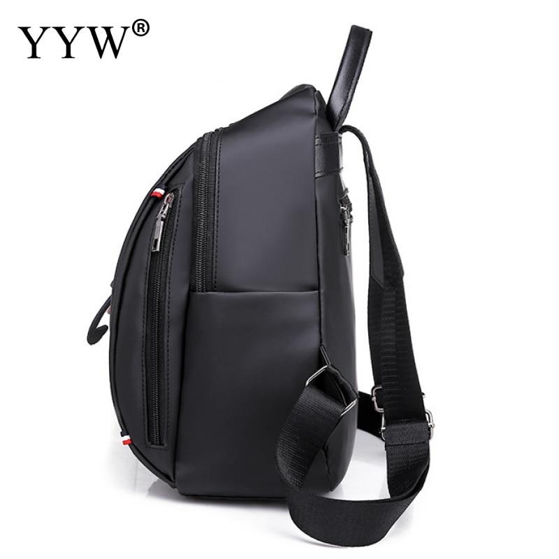 Прекрасный черный рюкзак цвета хаки для женщин 2019 Повседневная Водонепроницаемая школьная сумка для девочек-подростков женская сумка с ручкой твердая