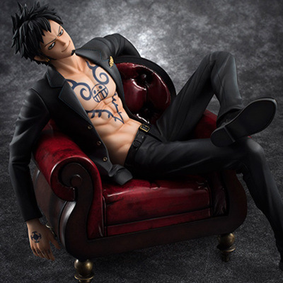 Figure One Piece Excellent Model seating Trafalgar Law figurine in Action Toy Figures from Toys Hobbies
