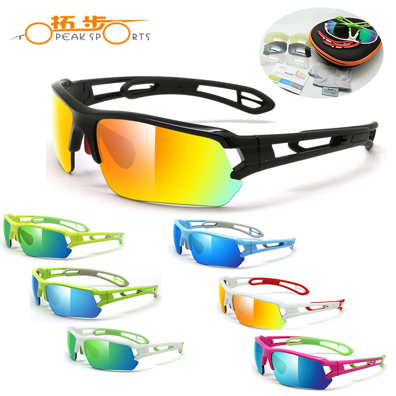 New Topeak Sports Bikes Mtb Outdoor Sports Glasses Polarized Men Riding Fishing Sunglasses Cycling Eyewear Bicycle