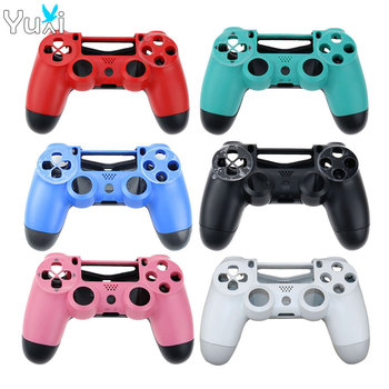 YuXi Replacement For Sony PS4 Wireless Controller Plastic JDM 001 010 011 Cover Front Back Housing Shell Case front back cover replacement for symbol mc65 mc659b