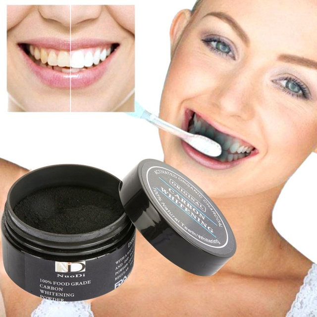30g black bamboo charcoal powder toothpaste activated carbon teeth