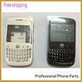 Habitação original completo para blackberry curve 9300 completo a habitação + botão lateral + teclado preto/branco