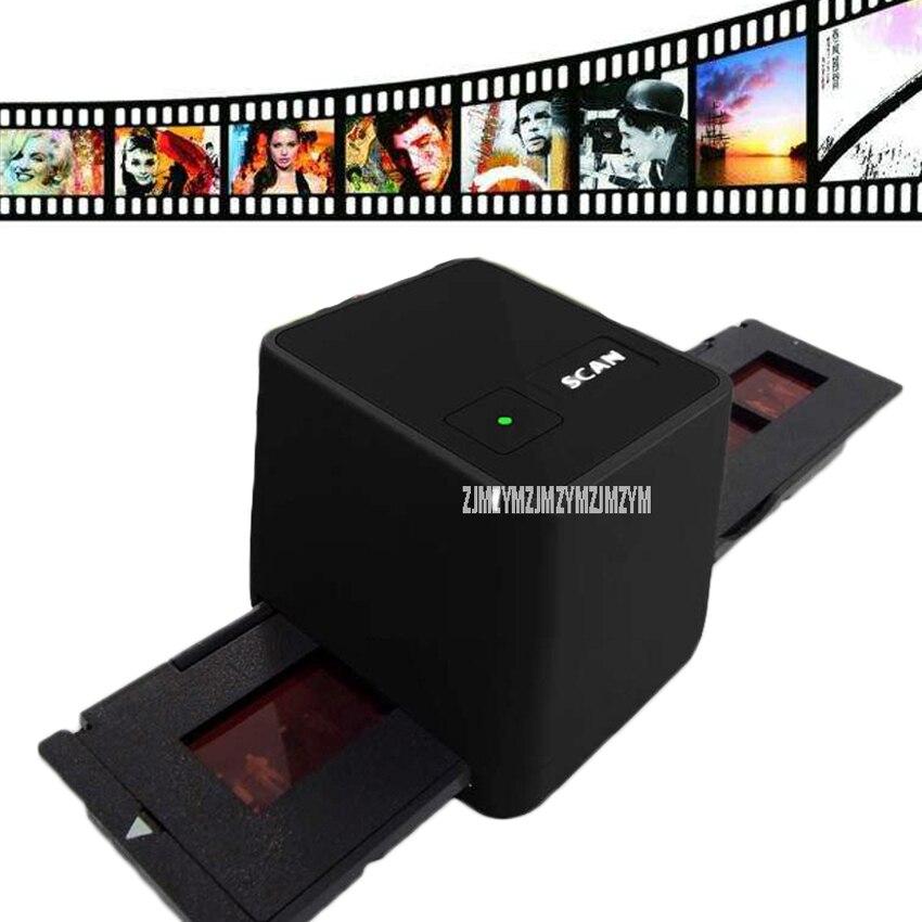 FS110 высокое Разрешение USB Фильм сканер сканирования и захвата 17 Мега Пиксели 135 слайдов и кино конвертер 35 мм отрицательный пленка