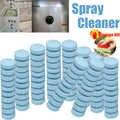 50-500 pièces multifonctionnel Effervescent comprimé Spray nettoyant ensemble maison cuisine nettoyage voiture pare-brise verre laveuse détergent bleu