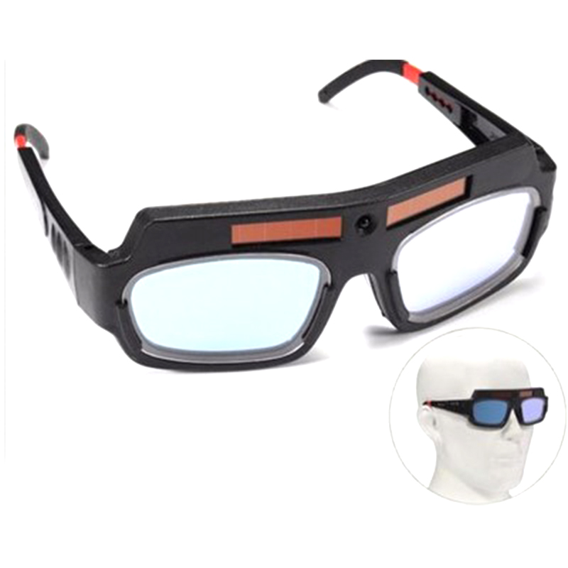 Arc PC Lens Great Goggles For Welding Protection Solar Powered Auto Darkening Welding Mask Helmet Goggle Welder Glasses
