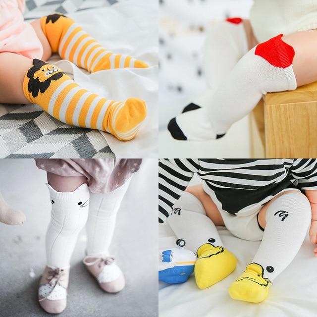 Ins Soft Cotton Girls Boys Sock Cartoon Animals Sock Fox Cat Lion