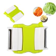 LumiParty Multifunction Folding Double-end Twister Cutter Slicer Peeler for Kitchen Vegetable Fruit