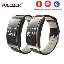 Volemer CK11S Smart группа крови Давление часы крови кислородом монитор сердечного ритма браслет шагомер IP67 Водонепроницаемый смарт-браслет