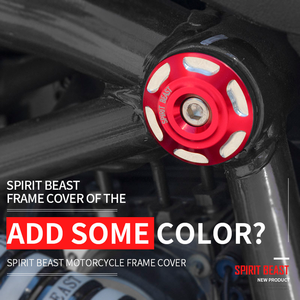 Spirit Beast Motorcycle Frame Accessories Motorbike Decorative Body Screw Cover for Benelli TNT125 TNT300 BN300 BJ300GS(China)