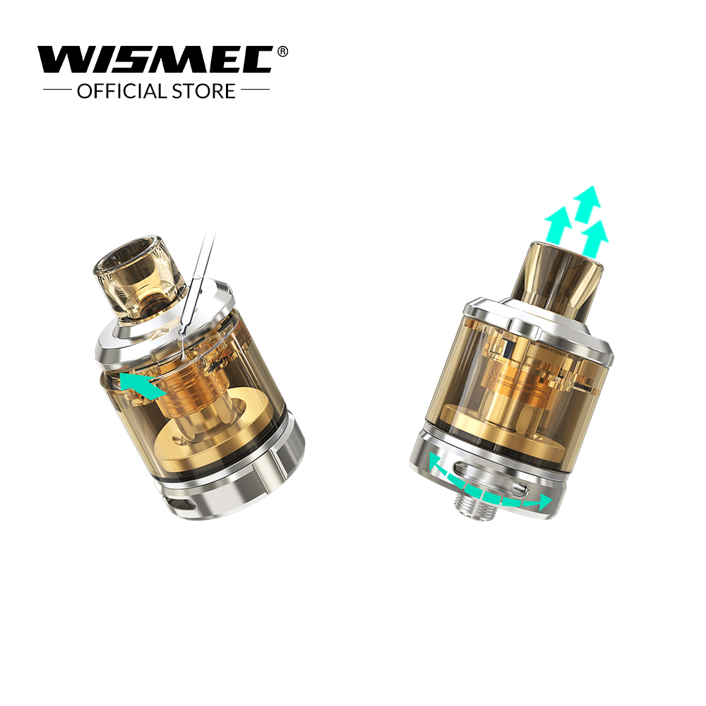 WISMEC SINUOUS V80 Kit with Amor NSE Tank 3ml Capacity 80w SINUOUS V80 box mod Electronic Cigarette vape kit