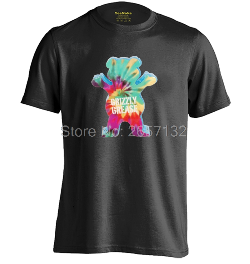 Grizzly Grease Mens & Womens Cartoon Short Sleeve Cotton T Shirt