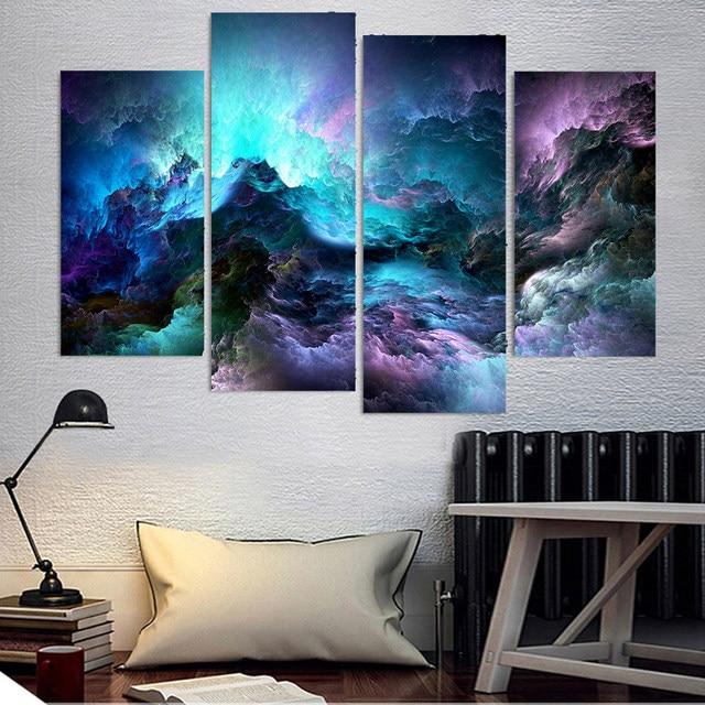 Vérifiez le prix Peinture murale moderne toile HD imprimé Art photos ...