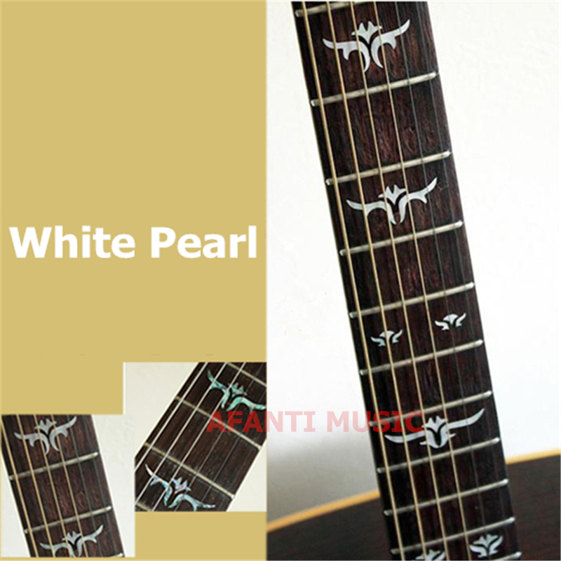 Afanti music Guitar Finger Board sticker / Shell sticker Inlay (FPD-122) yibuy 2pcs inlay colorful guitar head veneer shell sheet new