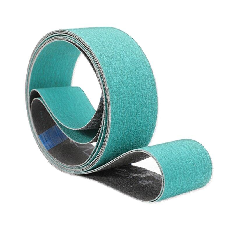New 4pcs 2100*50mm 577F Zirconia Abrasive Sanding Belt 40#60# 80#120# On Metal Belt  For Stainless Steel Knife Sharpener Tool