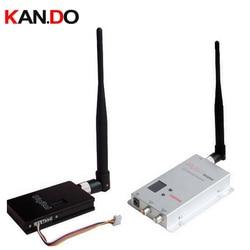 1.5W 8ch 1.1G 1.2G 1.3G Wireless AV transceiver for cctv 1.2G Video Audio Transmitter image transmission cctv transmitter