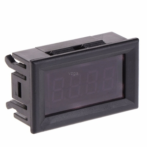 Image 5 - 2 in 1 LED Tachometer lehre Digitale RPM Voltmeter für Auto Motor Rotierenden Geschwindigkeit MAY25 dropship
