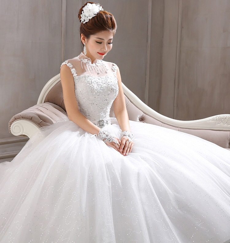 Sweet White Wedding Dress Fashion Dresses