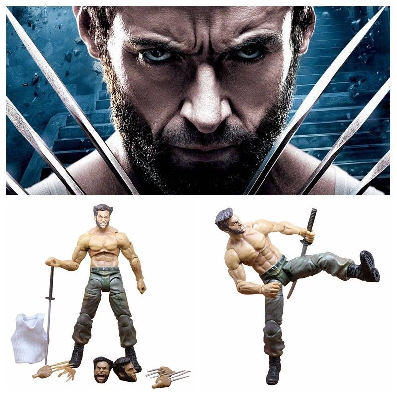 Brand new 7'' Marvel Legend Comics X-Man Wolverine Action Figure Collection Model for Children gift Kids Toys with original Box marvel comics all new x men vol 7