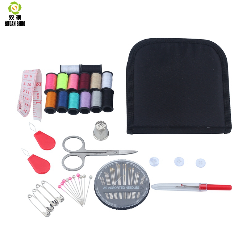 Shuanshuo Hot sewing set Home kit Needle box Sewing tool 67 sets of