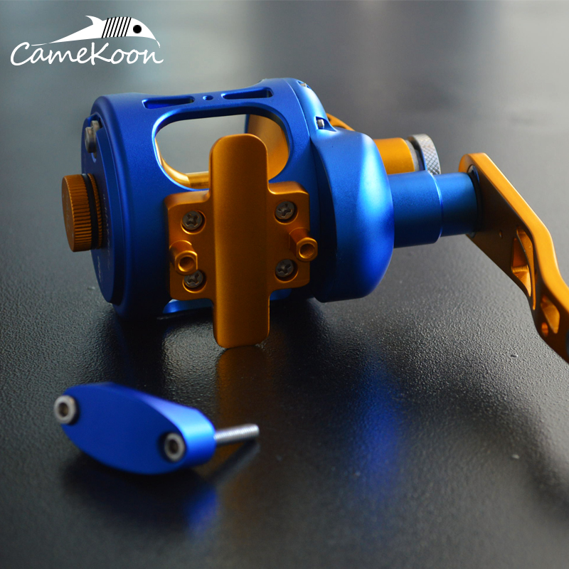 camekoon convencional saltwater carretel arraste alavanca 35kg 02