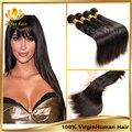 """Rosa для волос бразильский виргинский волос прямой дешевые человеческих волос переплетения 3 шт. 8 """" - 30 """", Необработанные виргинский бразильский прямые волосы"""