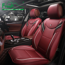 цена на Universal Leather car seat covers For Toyota Corolla Camry Rav4 Auris Prius Yalis Avensis SUV auto accessories car sticks