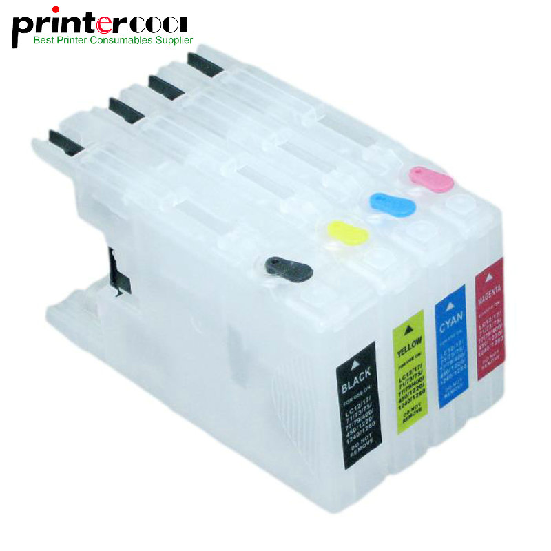Refillable Ink Cartridge LC79 LC71 <font><b>LC1280</b></font> LC75 LC1240 LC73 for Brother MFC-J6510DW MFC-J6710 MFC-J6910DW MFC-J6710DW DCP-J525W image