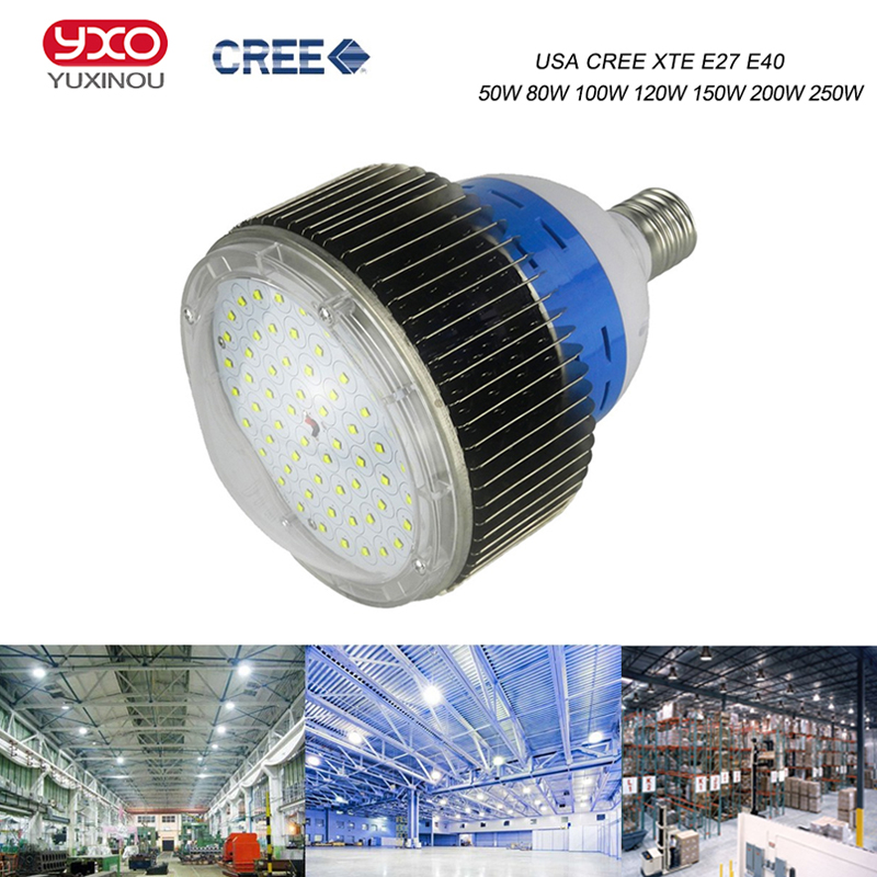 100W 150W 200W 300W Led High Bay Light Led Industrial Machine Sewing Lamp Cree Gas Station Light Sewing Lamp Led Workshop Lights 1000led led gas station light 150w 16 000 lumen 500w 650w hid hps equal daylight 5 000 kevin ac100 277v waterproof ip65 canopy