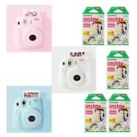 Genuine Fuji Fujifilm Instax Mini 8 Instant Camera Set With 100 Pcs Fujifilm Instax Mini Instant