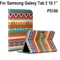 Case Cover For Samsung Galaxy Tab 2 10 1 Inch P5100 Case PU Leather High Quality
