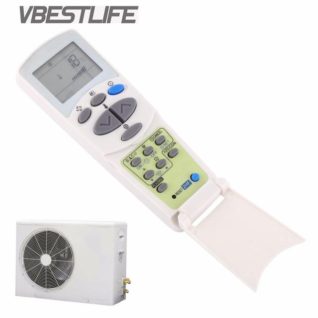 VBESTLIFE מזגן אוניברסלי שלט רחוק עבור LG 6711A20096L מרחוק בקר LCD תצוגה