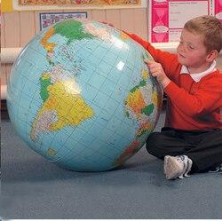 40 CM Aufblasbare Welt Globus Lehren Bildung Geographie Spielzeug Karte Ballon Strand Ball