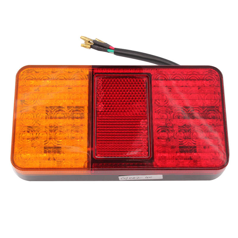 1 Pair 12V 40 LED, Rear Tail Lights, Stop Indicator Lamp, Truck Trailer Van Bus Car Accessories hot sale футболка lee lee le807ewqto89
