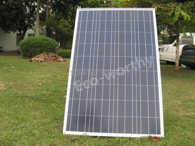 UK Stock A grade 100w poly solar panel kit 100W solar system solar power 12V battery charger for 12V system PV home system