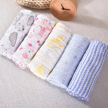 цена на Baby Blanket Cotton Baby Muslin Swaddle Blanket Quality Better Than Aden Anais Baby Bath Towel Cotton Blanket Infant Wrap