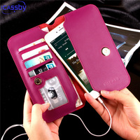 Flip Wallet Case For Coque Huawei P9 Lite Luxury PU Leather Stand Phone Bag Cover For