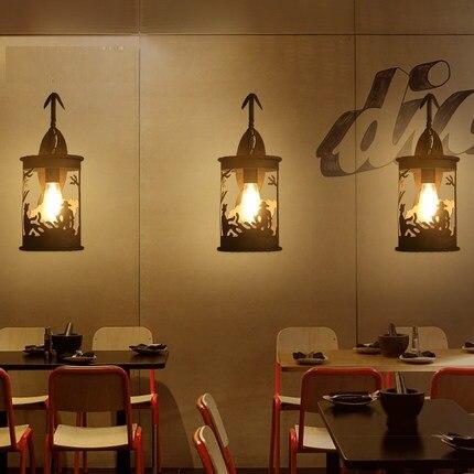 Style Loft Fer Cheval Mur Luminaires Vintage éolien Industriel