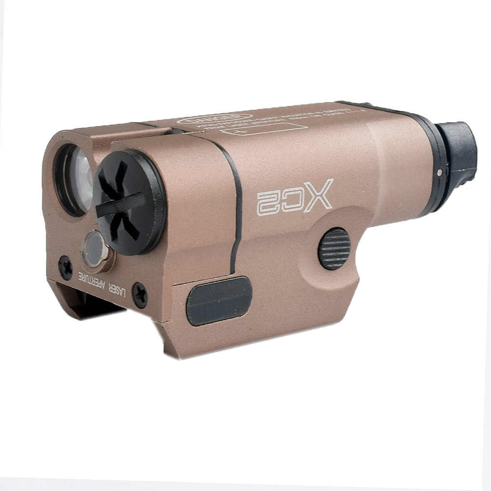 WIPSON XC2, linterna láser de punto rojo, Ultra compacta, miniluz blanca, 200 lúmenes, para caza, Airsoft