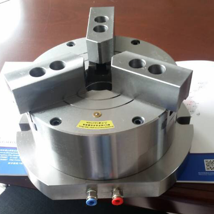 Hollow Vertical Pneumatic Hydraulic Dual-purpose Three Jaw Chuck KL200TQ-3