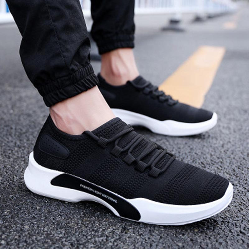 2019 Men Running Shoes Men Basket Sneakers Outdoor Sports Shoes Male Breathable Athletic Trainers Men Walking Jogging in Running Shoes from Sports Entertainment