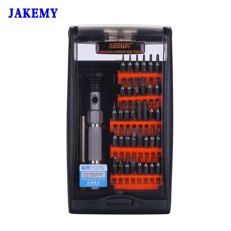 Jakemy precisión magnética Destornilladores hex Torx destornillador parafusadora Destornilladores kit para teléfono móvil ordenador