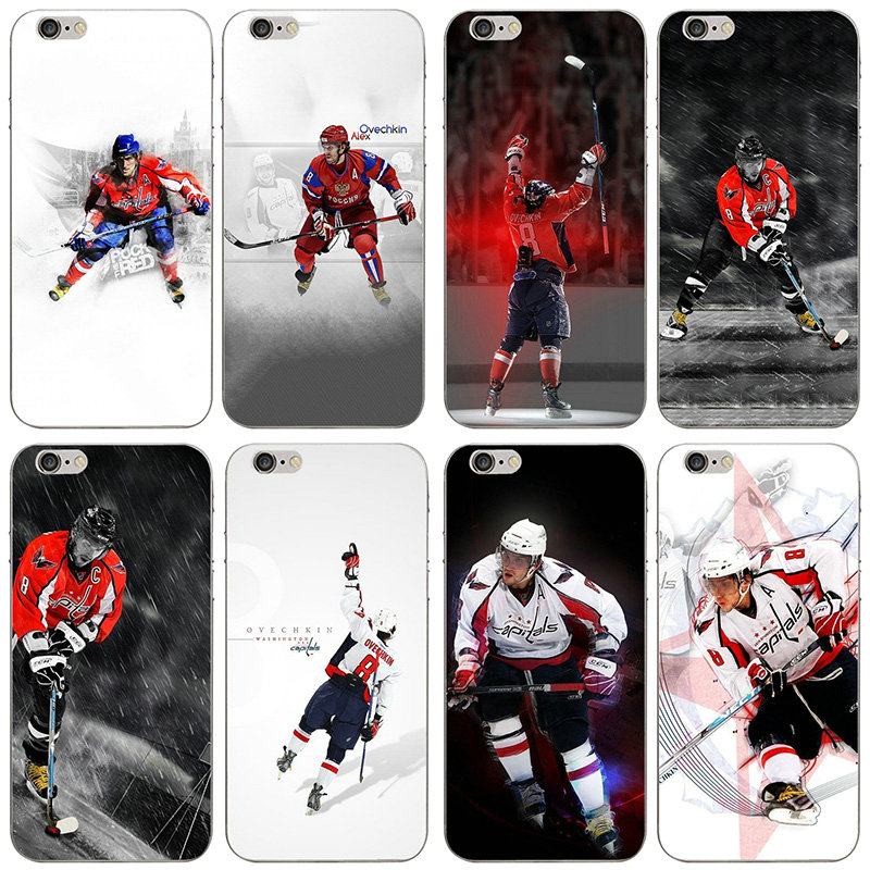 Hot Alexander Ovechkins Soft TPU Silicone Mobile Phone Cases for iPhone 8 7 6 6S Plus X XR XS Max 10 5 5S SE 5C 4 4S Case Bags(China)